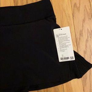 lululemon athletica Skirts - NWT Black Lululemon Skort
